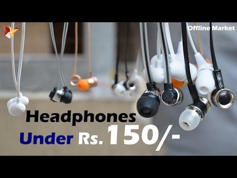 Earphones Under Rs.150 | Offline & Online Market | Data Dock