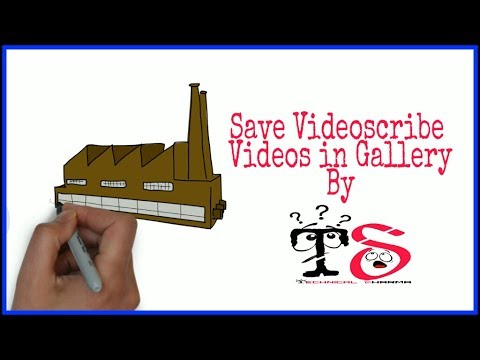 【Solution 】Save Videoscribe Video in Gallery