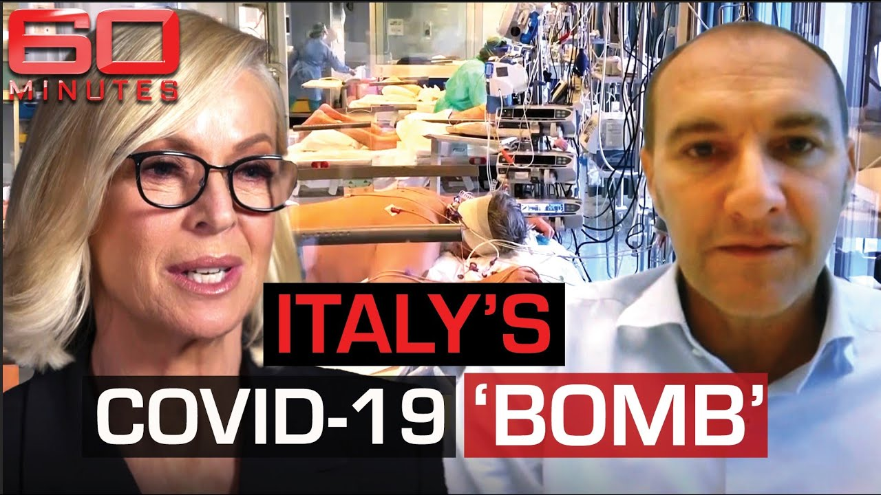 Italy's deadly second wave: revisiting the epicentre of the virus | 60 Minutes Australia