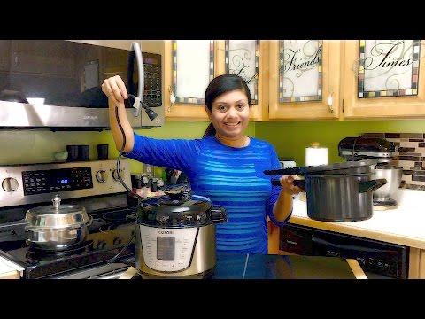 Stove Top VS Electric Pressure Cooker? | Bhavna's Kitchen