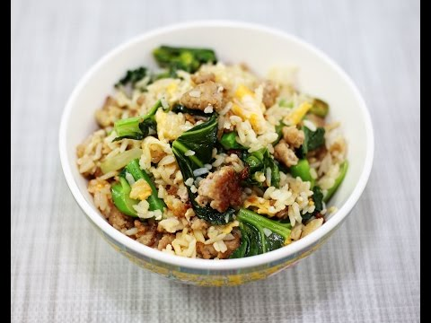 How to make fried rice with minced pork