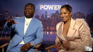 50 Cent & Lala Talk POWER Season 6 + Power Being Overlooked By The Emmy's
