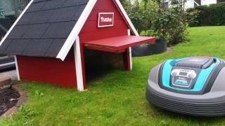 husqvarna automower bau einer garage music jinni. Black Bedroom Furniture Sets. Home Design Ideas