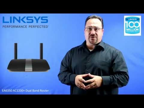 Linksys EA6350 AC1200+Router