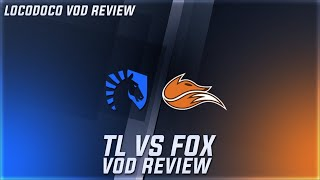 Tl Vs Fox - Great Gameplay Or Just A Fluke From Echo Fox? - Week 9 Lcs [vod Review]