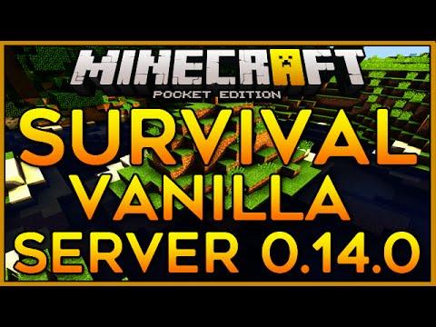 Minecraft PE 1.0.2 SERVIDOR DE VANILLA / SURVIVAL! - (XenonCraft Server / Pocket Edition / MCPE) #1