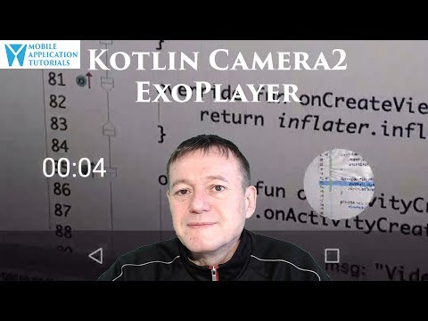 Kotlin camera2 API video playback using ExoPlayer
