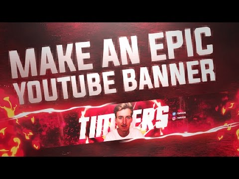 How To Make A Gaming Youtube Banner In Photoshop (CC/CS6) 2017