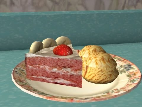 The Sims™ 2 - Let's bake a Strawberry Banana Cake!