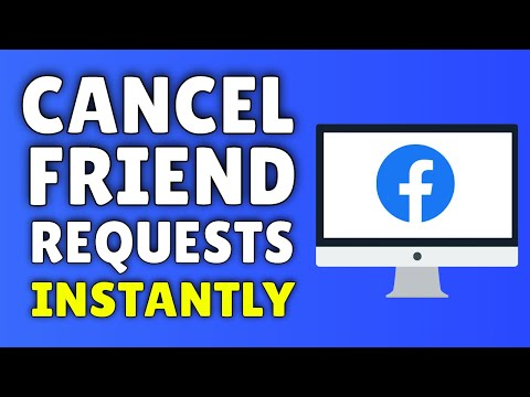 How To CANCEL Friend Request on Facebook | How to Cancel Pending Facebook Friend Request