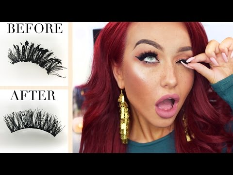 ❤ HOW TO: Clean False Eyelashes & Stacking Them ❤