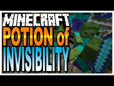 Minecraft - How to Make a Potion of Invisibility