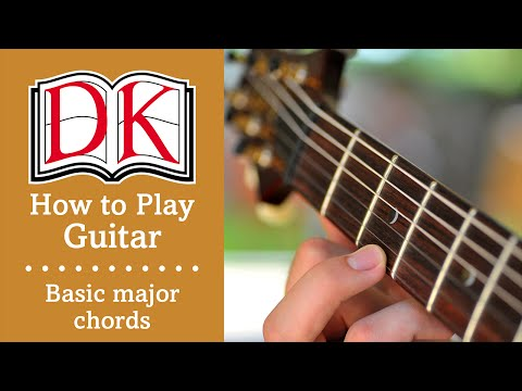 How to Play Guitar: Basic Major Guitar Chords