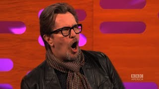 GARY OLDMAN on His Screaming Role in CALL OF DUTY - The Graham Norton Show on BBC AMERICA