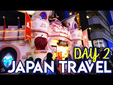 Japan Travel Vlog Day 2 -  Shimokitazawa & Disney Store Shibuya | Tokyo