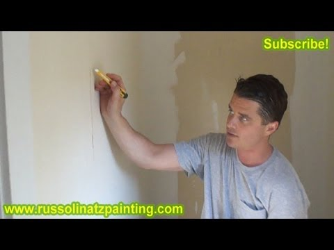 DIY Skim Coat Wallpaper & Painting Walls (Part 1) -Drywall Repair & Wall Preparation