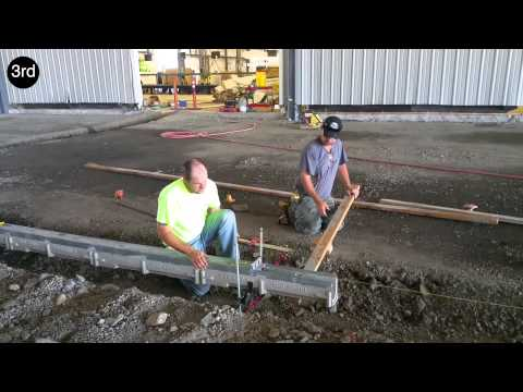 Rapid Trench - Trench Drain Installation System