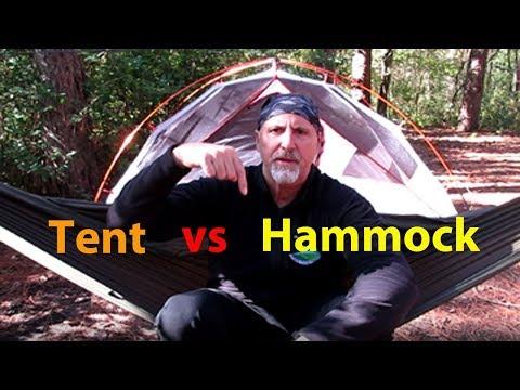 Tent vs Hammock   Why I perfer a hammock