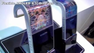 Samsung Youm Display - Flexible Display - AMOLED and Transparent OLED Screens
