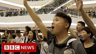 Glory to Hong Kong: Singing a new protest anthem - BBC News