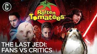 Star Wars: The Last Jedi - Fans Vs Critics (Spoilers)