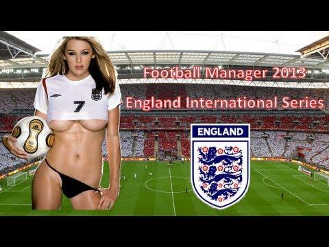 Football Manager 2013 - England International Series Episode 1 (Belgium Live Com)