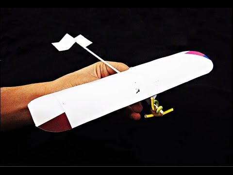 ★ How to make a Paper Airplane that Flies Far | Propeller-driven aircraft ★