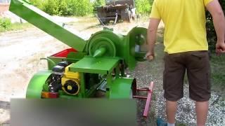 Три в одном. Измельчитель веток, дровокол, пила (Crusher branches, wood splitter, Circular Saw)