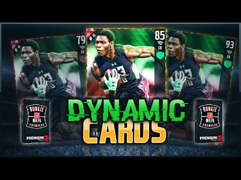 EPIC PULL! ROOKIE DYNAMIC CARDS IN MADDEN 17! ROOKIE PREMIERE PACK OPENING! Madden 16 Ultimate Team