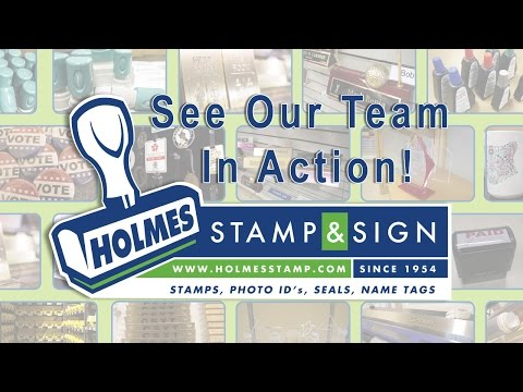 Holmes Stamp & Sign - Production Tour