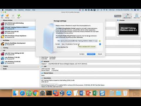 How to Export a Virtual Machine from VirtualBox