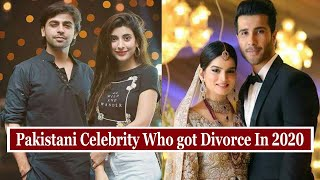 5 Famous Pakistani Celebrity Who Got Divorce In 2020