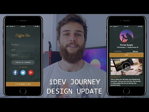 Starting My First iOS App - Design Preview - iDev Journey Update