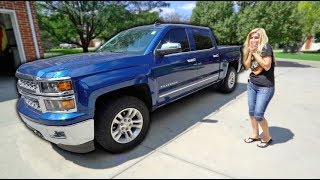 I BOUGHT MY MOM HER DREAM TRUCK?! **17 years old**