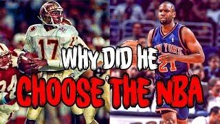 The HEISMAN WINNER Who CHOSE THE NBA