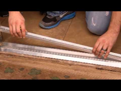 How to Install an Adjustable Door Threshold