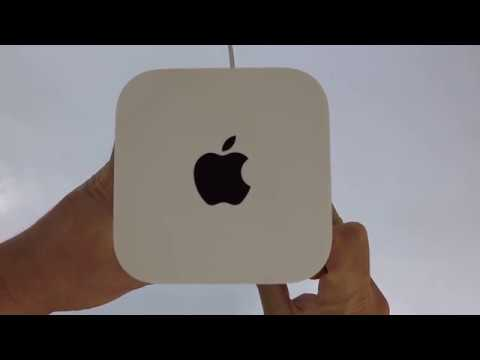 How to Hard Reset an Apple Airport Extreme or Apple Time Capsule