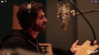 Hrithik Roshan recording his song Question mark | super 30|
