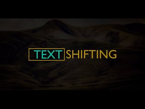 Text Shifting Intro Animation in After Effects   After Effects Tutorial #1   TechnoMafia
