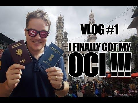 Vlog #1 || I finally got my OCI card