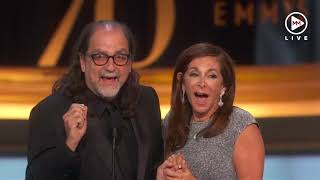 Emmy winner proposes to girlfriend on live TV