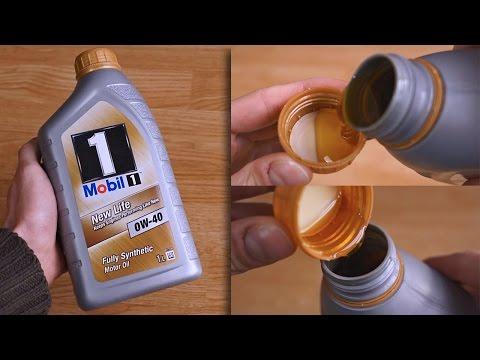 Mobil 1 New Life 0W40 original oil show