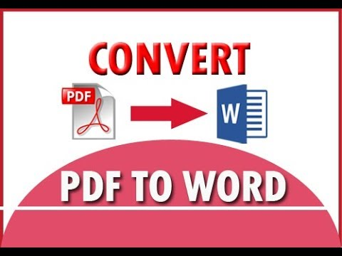 How to convert pdf to word without software | Convert PDF to Word online