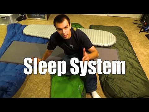 Beginner Backpacking Part 4 - Sleep Systems