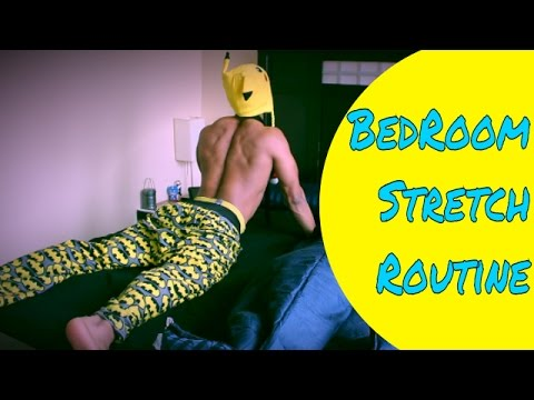 How to Stretch - Morning Stretch Routine - Quick Bedroom Fitness Exercise