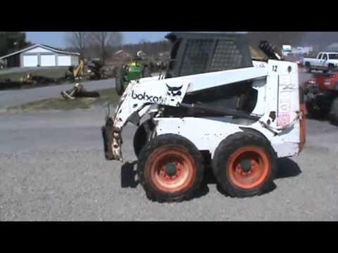 1996 Bobcat  853 Skid Steer Loader For Parts Or Repair For Sale