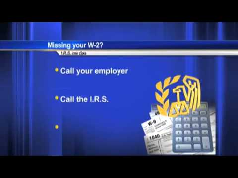Missing your W-2?