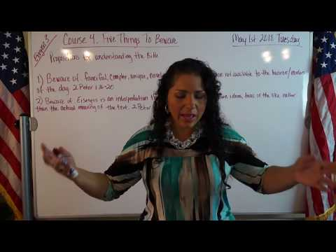 EMOAF S.O.M Back To Basics   Propositions Exegesis Three Course 4: Five things to beware: Learn m...