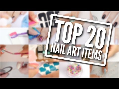 TOP 20 Nail Art Items You NEED In Your Kit!