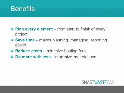SMARTWaste Canada Waste Management Planning Tool